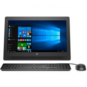 "PC Todo en Uno HP ProOne 400 G2, Intel Core i3-6100T 3.2 GHz, RAM 8GB, HDD 500GB, WiFI, DVD, LED 20"" HD, Windows 10 Pro"