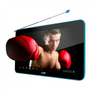 "Tablet Yezz Epic T7FD Blue, Almacenamiento 4GB, TV, Touch 7"", Android 4.2"