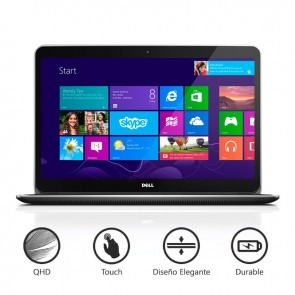 """Laptop Dell XPS 15-8947 """"Special Edition"""" Intel Core i7-4712HQ 2.3 GHz, RAM 16GB, SSD 256GB, Video 2GB ddr5, LED 15.6"""" QHD-3K Touch, Win 8.1"""