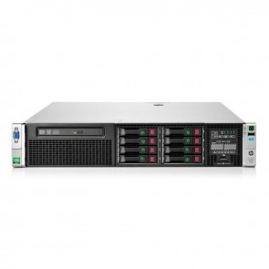 Servidor HP ProLiant DL380 Gen9 SATA / SAS - SFF - Intel Xeon Processor E5-2640 v4, 25M Cache, 2.40 GHz - RAM 8GB DDR4 + 2 x HDD 300GB 15K SAS 12GBPS 2.5""