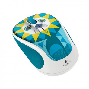 Logitech Wireless M317c Mouse - Luke Lion - Inalámbrico - Unifying - 1000dpi