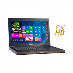 "Laptop Dell WorkStation Precision M6800 Intel Core i7 4610M 2.8GHz(vPro), RAM 16GB, HDD 1TB, NVidia Quadro K2200M 2GB, DVD, 17.3"" Full HD, Windows 8.1 Pro"