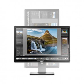 "Monitor DELL P2714H de 27."" Full HD 1920x1080, Pivot ajustable,VGA, DisplayPort, DVI-D, Hub USB"