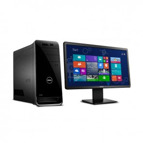 PC Dell XPS 8900, Intel Core i7-6700 3.3GHz, RAM 16GB, HDD 1TB, Video GTX 4GB, DVD,  Windows 10 + Monitor DELL E2014H-20""