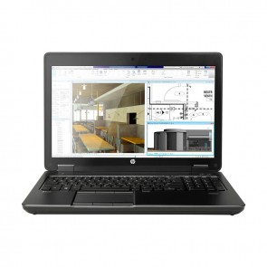 "Laptop HP ZBook 15 G2 Workstation Intel Core i7 4810MQ 2.8GHz, RAM 16GB, SSD 512GB, Video 2GB Quadro K2100, DVD,15.6"" Full HD, Win 7 / Win 10 Pro"