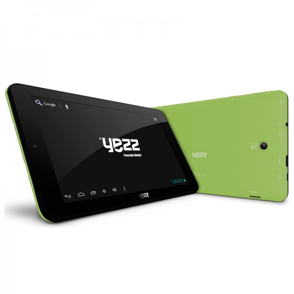 "Tablet Yezz Epic T7 Green, Dual core, almacenamiento 16GB, Touch 7"", Android 4.2"