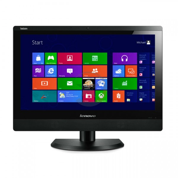 "PC Todo en Uno Lenovo ThinkCentre M93z, Intel® Core™ i5-4590 3.3GHz, RAM 8GB, HDD 500GB, WiFI, BT, DVD, LED 23.8"" Full HD, Win 8.1 Pro"