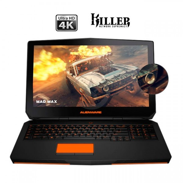 "Laptop Dell Alienware 17R3 ""Special Edition"" Intel Core i7-6700HQ 2.6GHz, RAM 16GB, HDD 1TB+SSD 128GB, Video 3GB GTX 970, WLED 17.3"" UHD 4K, Win 10"