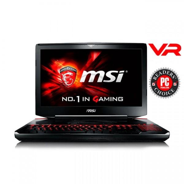 """Laptop Gaming MSI GT80S 6QF-074US TITAN SLI, Intel Core i7 6920HQ 2.9GHz, 32GB RAM, HDD 1TB+SSD 512GB( RAID4), Video Nvidia GeForce GTX 980M de 16GB(SLI), Blu-Ray/BD-RE, LED 18.4"""" Full HD, Win 10 Home"""