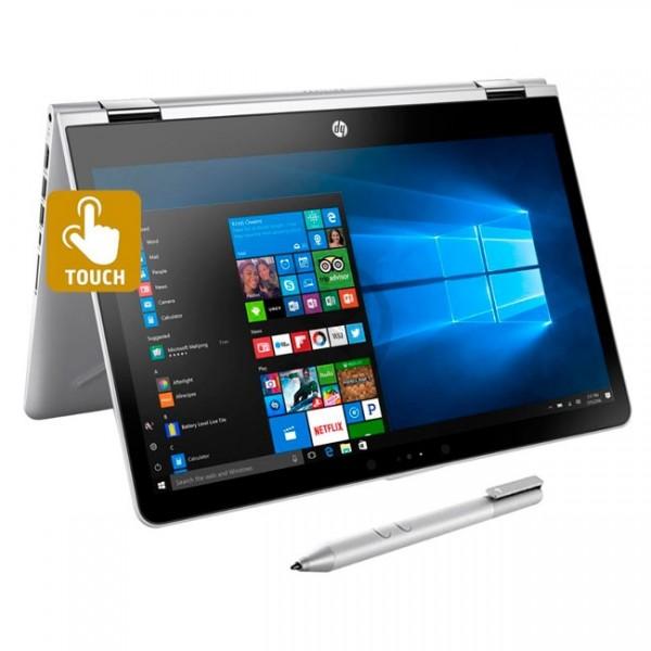 "Convertible 2 en 1 HP Pavilion X360 14-BA001LA Intel Core i3-7100U 2.1GHz, RAM 4GB, HDD 500GB, WLED 14"" HD Táctil , Windows 10 Home"