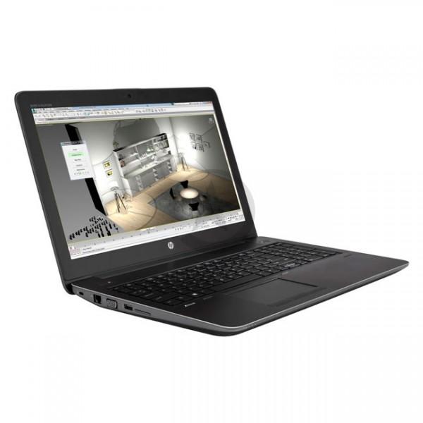 "Laptop HP ZBook 15 G4 Mobile Workstation Intel Core i7 7700HQ 2.8GHz, RAM 16GB, HDD 1TB, Video 4GB Nvidia Quadro M1200, LED 15.6"" Full HD, Windows 10 Pro"