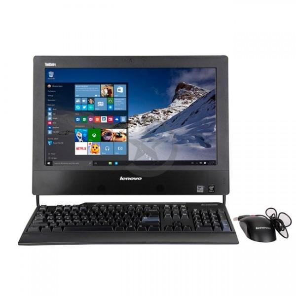 """PC Todo en Uno Lenovo ThinkCentre M73z, Intel Core i5-4570S 2.9GHz, RAM 6GB, HDD 500 GB, Wi-FI, BT, DVD, LED 20"""" HD+, Windows 10 Pro"""