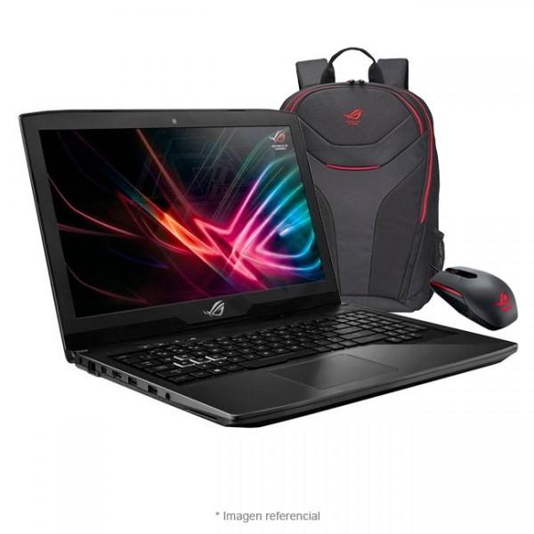 "Laptop Asus ROG GL503VS-EI034T, Intel Core i7-7700HQ 2.8GHz, RAM 16GB, HDD 1TB + SSD 256GB NVMe, Video 8GB Nvidia GeForce GTX-1070, LED 15.6"" Full HD, Windows 10 SP"