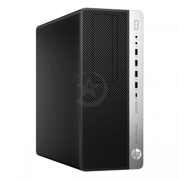 PC Workstation HP EliteDesk 800 G3 Graphics, Core i7-7700 3.4GHz, RAM 16GB DDR4, HDD 2TB+Sólido SSD 256GB, Video 8GB ddr5 Nvidia GTX-1080, Wi-FI, DVD, Windows 10 Pro