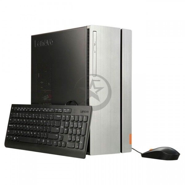 PC Lenovo IdeaCentre 720-18ASU, AMD Ryzen 7-1700 3.0GHz, RAM 16GB, HDD 1TB + SSD 128GB, Video 8GB AMD RX480, Wi-FI, DVD, Win 10 Home, Teclado y Mouse