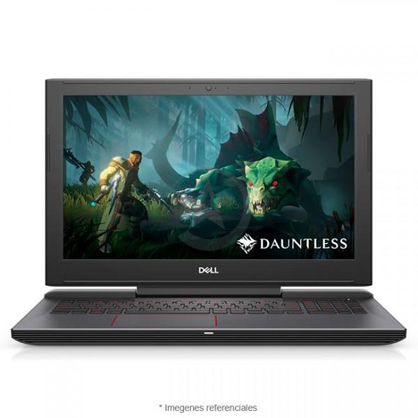"""Laptop Dell G5 15-5587 Gaming, Intel Core i7-8750H 2.2GHz, RAM 16GB, HDD 1TB+ Sólido SSD 128GB, Video 4GB Nvidia GTX-1050Ti, LED 15.6"""" Full HD, Windows 10"""