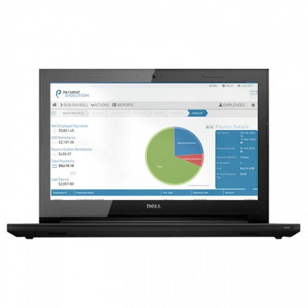 """Laptop Dell Inspiron 14 3458 Intel Core i3 5005U 2.0GHz, RAM 8GB, HDD 500GB, Video 2GB NVIDIA 920M, 14"""" HD"""