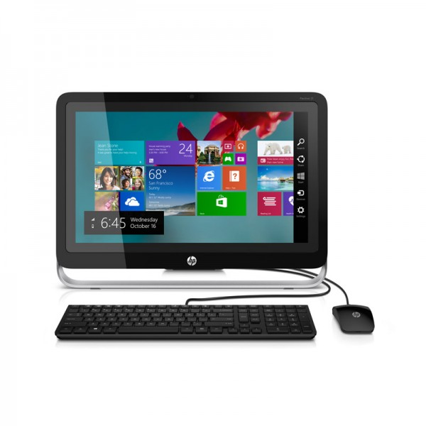 "PC Todo En Uno HP Pavilion 23-h119 TouchSmart, AMD A10-6700T 2.5GHz, RAM 16GB, HDD 2TB, DVD, LED 23"" Full HD Touch, Windows 8.1"