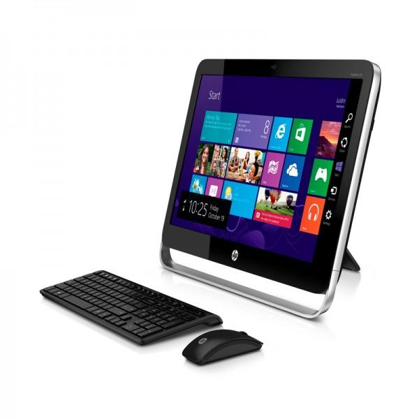 "PC Todo en Uno HP Pavilion TouchSmart 23-P027C, Intel Core i5 4570T 2.9GHz  vPro, RAM 8GB, HDD 1TB, DVD, LED  23"" Touch Full HD, Windows 8.1"