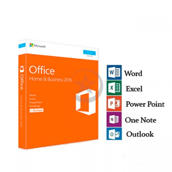 Microsoft Office, Hogar y Empresas 2016, 1PC