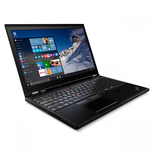 "Laptop Workstation Lenovo ThinkPad P51 Top Seller Intel Xeon E3-1505 V5 2.8GHz, RAM 16GB, HDD 1TB + SSD 512GB, Video 4GB Quadro M2200m, LED 15.6"" Full HD, Windows 10 Pro SP"