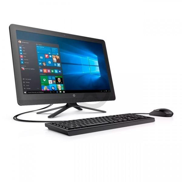 """PC Todo en Uno HP 24-G200LA, APU AMD Quad-Core A6-7310 2.0GHz, RAM 4GB, HDD 1TB, DVD, Wi-FI, BT, Pantalla LED 23.8"""" Full HD, Windows 10"""
