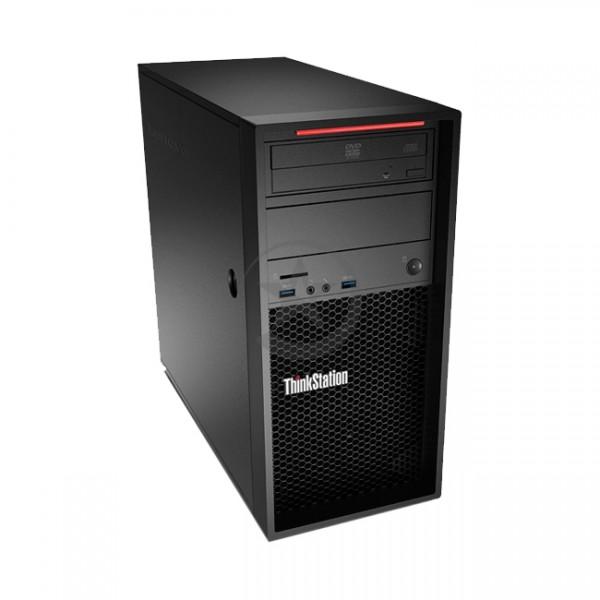 PC Lenovo ThinkStation P310, Intel Core i7-6700 3.4GHz, RAM 16GB, HDD 2TB + Sólido SSD 256GB, Video 4GB Nvidia Quadro K1200, DVD-RW, Windows 10 Pro