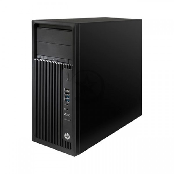 PC WorkStation HP Z240 Torre, Intel Core Xeon E3-1230 v.5 3.4GHz, RAM 16GB , HDD 1TB+SSD 180GB, Video 5GB Nvidia Quadro P2000, DVD, Win 10 Pro