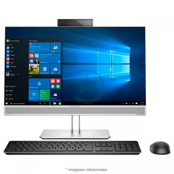 "PC Todo en Uno HP EliteOne 800 G3, Intel Core i7-7700 3.6GHz, RAM 8GB, HDD 1TB, DVD, Wi-FI, LED 23.8"" Full HD Táctil, Windows 10 Pro SP"