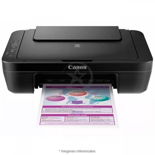 Impresora Multifuncional Canon Pixma E402, Imprime / Escanea / Copia, USB 2.0.