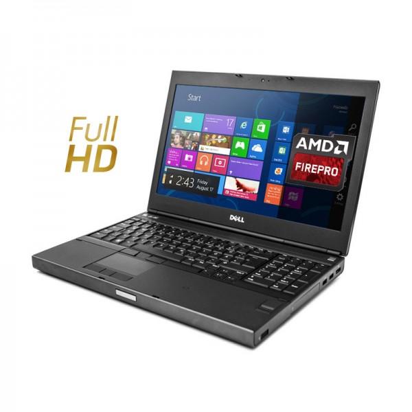 "Dell WorkStation Precision M4800 Intel Core i7 4800MQ 2.7GHz, RAM 8GB, 256GB SSD, Video FirePro M5950 1GB ddr5, DVD, 15.6"" Full HD, Windows 8.1 Pro"