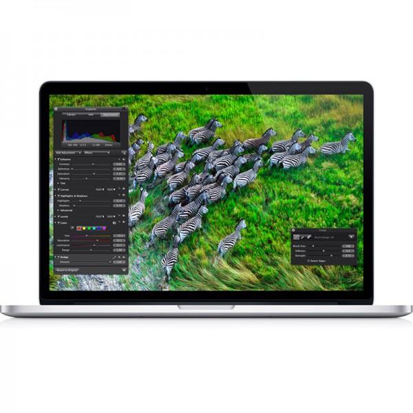 """Apple MacBook Pro Retina Intel Core i7 2.5Ghz, RAM 16GB, SSD 512GB, Video 2GB, 15.6"""" QHD Retina, OS X"""