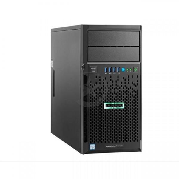 Servidor HP ProLiant ML30 G9 Torre 4U, Intel Xeon E3-1220v6 Quad Core (3.00GHz 8MB) - 8GB DDR4 - HDD 1TB SATA - DVD-RW