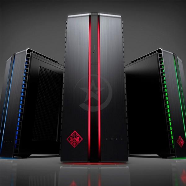 PC HP Omen 870-103LA Gaming, Intel Core i7-6700 3.4GHz, RAM 16GB, HDD 1TB + Sólido SSD 128GB, Video 4GB Nvidia GTX 750Ti, Wi-FI, DVD, Windows 10 Home