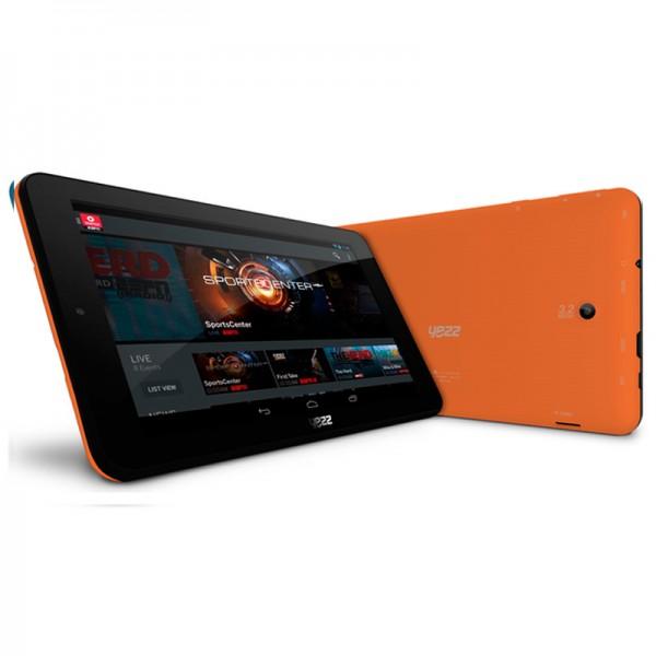 "Tablet Yezz Epic T7 Oragne, Almacenamiento 16GB, Touch 7"", Android 4.2"