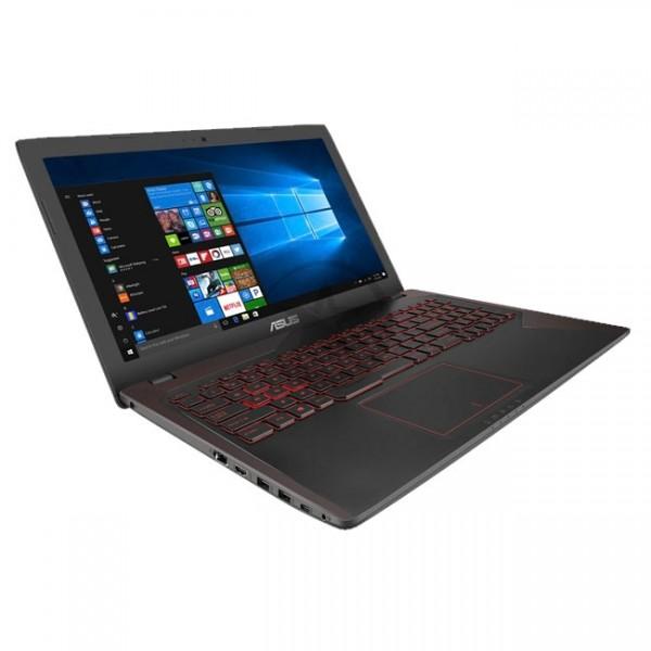 "Laptop Asus FX53VD-MS71 Gaming, Intel Core i7 7700HQ 2.8GHz, RAM 12GB, HDD 1TB, Video 2GB Nvidia GTX 1050, LED 15.6"" Full HD, Win 10 Home eng"