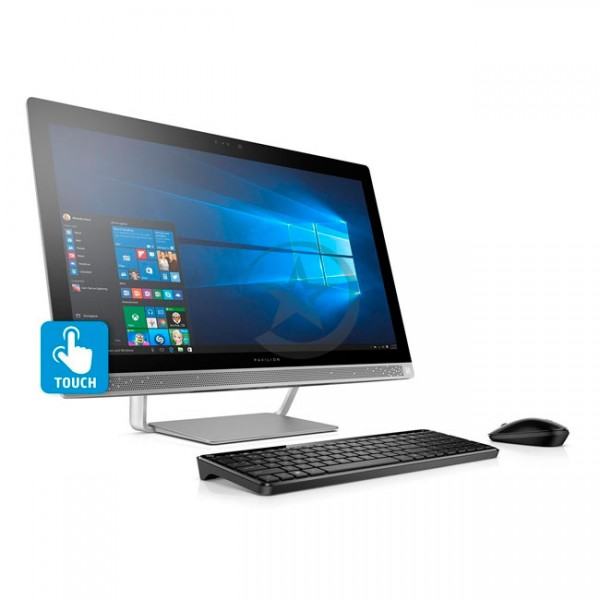 "PC Todo en Uno HP Pavilion Touch 27-a021 Signature Edition, Intel Core i7-6700T 2.8GHz, RAM 16GB, HDD 1TB, Video 4GB 930MX, DVD, LED 27"" WQHD-Retina Táctil, Windows 10"