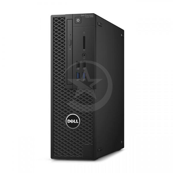 PC Dell WorkStation Precision 3420 SFF Intel Xeon® Quad Core E3-1225 v.5 3.30GHz, RAM 16GB , SSD 256GB ó HDD 1 TB , Video 4GB Quadro K1200 , DVD, Win 10 Pro