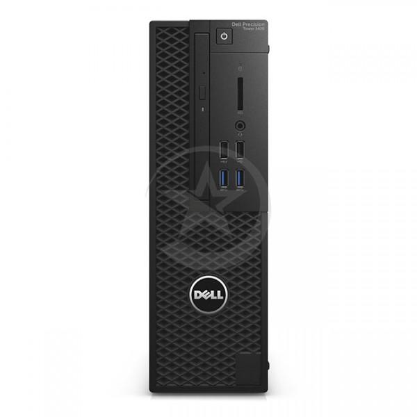 PC Dell WorkStation Precision 3420 SFF Intel Xeon® Quad Core E3-1225 v.5 3.30GHz, RAM 16GB , SSD 256GB ó HDD 1 TB , Video 1GB-NVIDIA® NVS™ 310, DVD, Win 10 Pro