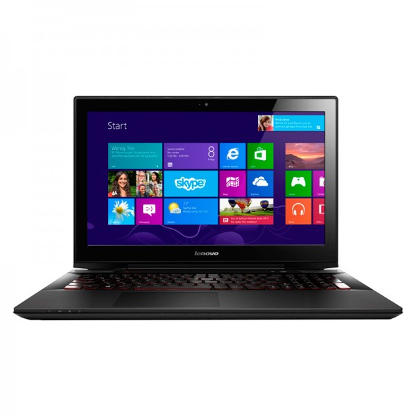 "Laptop Lenovo Y70 TOUCH Intel Core i5 4210H  2.9GHz, RAM 16GB, HDD 1TB+ 8GB SSD, Video 2GB GTX, DVD, 17.3"" Full HD Touch, Win 8.1 ENG"