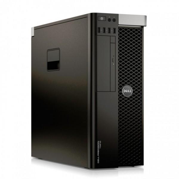 PC WorkStation Dell Precision T3610, Xeon® Quad-Core E5-1607 vPro 3.0GHz , RAM 16GB 1866MHz ECC, HDD 1TB, AMD FirePro W5000 2 GB, DVD, Windows 8.1 Pro