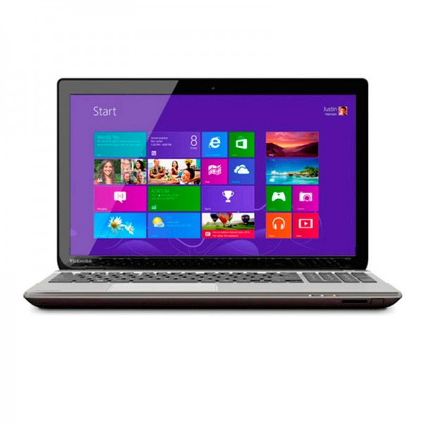 "Laptop Toshiba Satellite P55T-A5118 Intel Core i7 4500U 1.8GHz, RAM 8GB, HDD 1TB, DVD, LED 15.6"" Full HD Touch , Win 8.1"