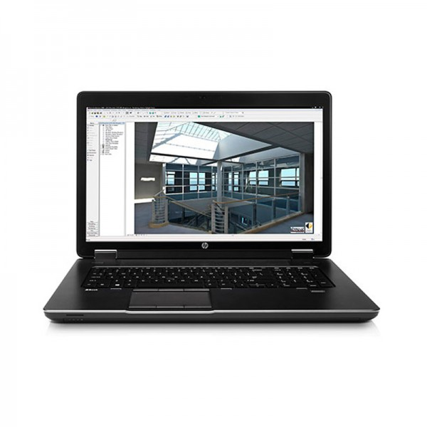 """Laptop HP ZBook 17 Workstation Intel Core i7 4600M 2.9GHz,RAM 16GB, HDD-SSD 256GB, Video 4GB Quadro K3100, DVD,17.3""""HD, Win7 Pro"""