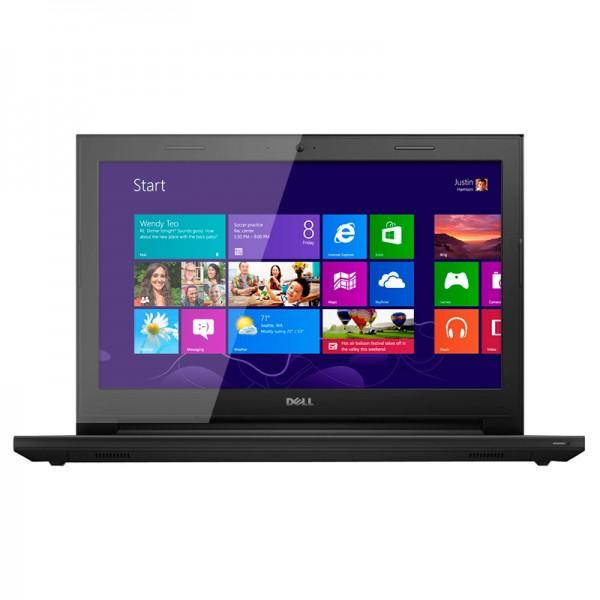 "Laptop Dell Inspiron 14 3442 Intel Core i3 4005U 1.70GHz, RAM 4GB, HDD 750GB, DVD , 14"" HD , Win 8.1"