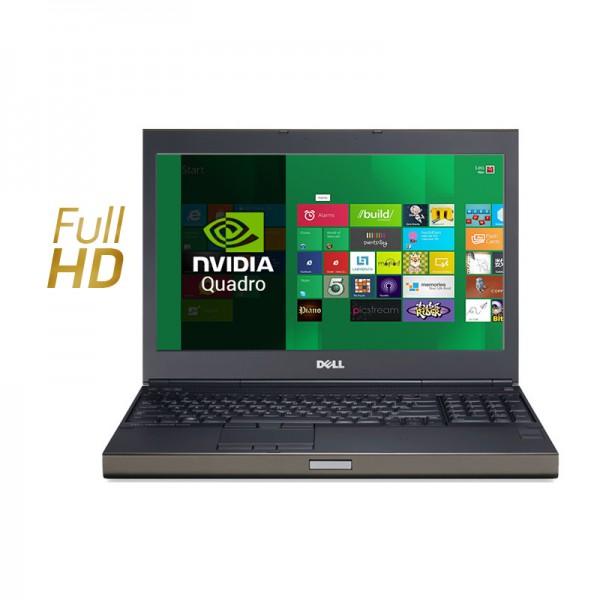 "Laptop Dell WorkStation Precision M4800 Intel Core i7 4810MQ 2.8GHz(vPro), RAM 32GB, HDD 1TB,Quadro K2100M 2GB, Blu-ray(BD-RE) 15.6"" Full HD, Win 8.1 Pro"