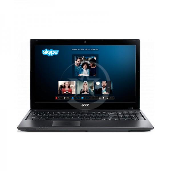 "Laptop Acer Aspire 5560-5652 AMD A4-3305M 2.5GHz, RAM 4GB, HDD500GB, Video 512MB, DVD, 15.6"" HD"