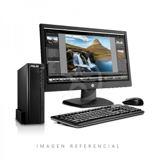 PC ASUS SLIM Commercial Desktop Intel Core i5 3.9GHz (vPro), RAM 8GB, HDD 1TB, DVD+RW, Win 8.1 Pro - Win 10 Pro + Monitor V193F 18.5""