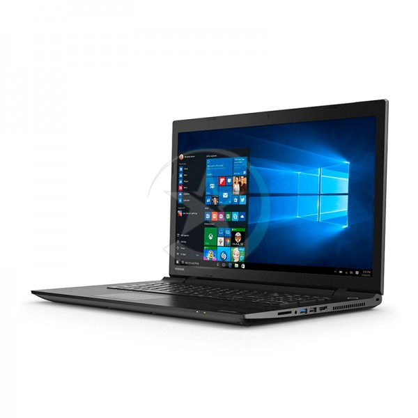 "Laptop Toshiba Satellite C75D-C02V0, AMD Dual-Core E1-7010 1.5GHz, RAM 4GB, HDD 1TB, DVD, LED 17.3""HD, Windows 10"