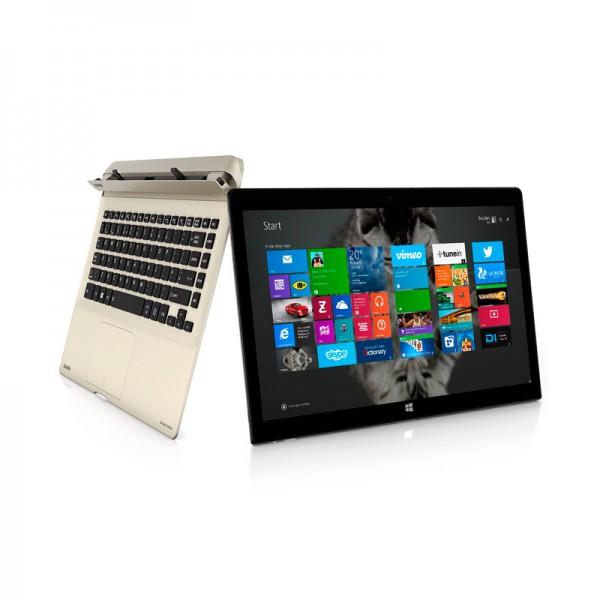 "Convertible Toshiba Satellite Click 2 Pro P35W-B3226, Intel Core i7-4510U 2.0GHz, RAM 8GB, SSD 128GB, LED 13.3"" FHD Touch, Win 8.1"