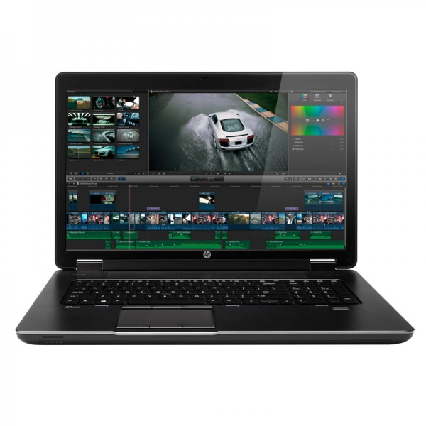 """Laptop HP ZBook 17 Workstation Intel Core i7 4700MQ 2.4GHz, RAM 16GB, HDD 750+SSD 32GB, Video 4GB Quadro K3100, BD,17.3""""Full-HD, Win8 Pro"""